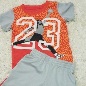Jordan/Two Piece Short Set/Size 24M